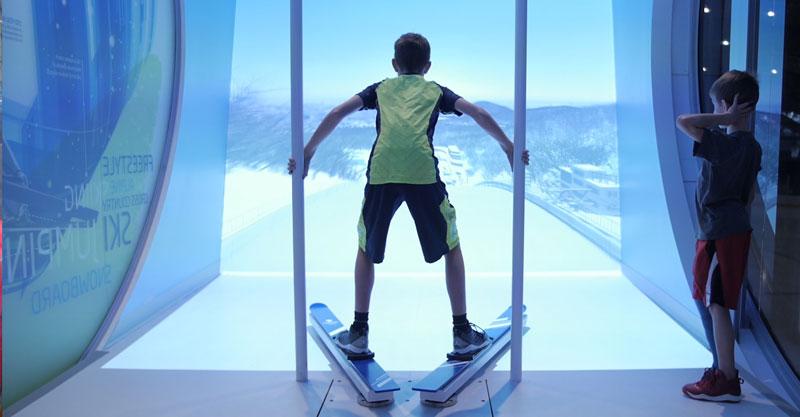 Skijump simulator image